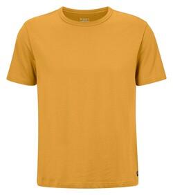 Maerz T-Shirt Single Jersey T-Shirt Kurkuma