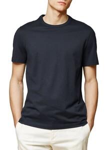 Maerz T-Shirt Single Jersey T-Shirt Navy