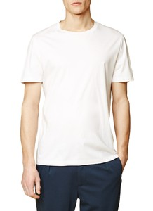 Maerz T-Shirt Single Jersey T-Shirt Pure White