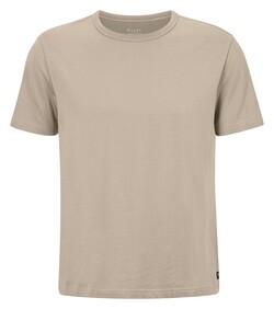 Maerz T-Shirt Single Jersey T-Shirt Zandstorm