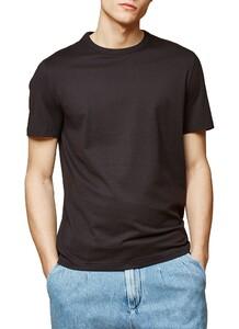 Maerz T-Shirt Single Jersey T-Shirt Zwart