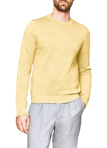 Maerz Two-Tone Pullover Pullover Vanilla