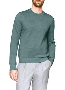 Maerz Two-Tone Pullover Trui Eucalyptus