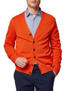 Maerz Uni Button Merino Superwash Vest Brique