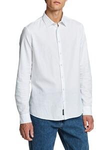 Maerz Uni Cotton Kent Overhemd Pure White