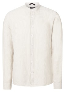 Maerz Uni Cotton Linen Shirt Sandstorm