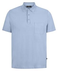 Maerz Uni Cotton Polo Diamond Sky