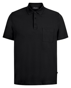 Maerz Uni Cotton Polo Zwart