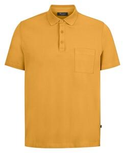 Maerz Uni Cotton Poloshirt Kurkuma