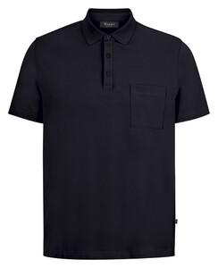 Maerz Uni Cotton Poloshirt Navy