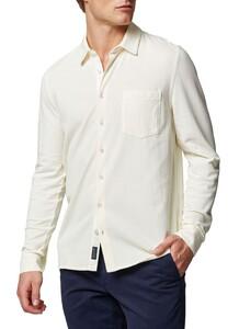 Maerz Uni Jersey Shirt Overhemd Clear White