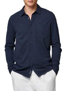 Maerz Uni Jersey Shirt Overhemd Navy