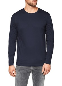 Maerz Uni Long Sleeve T-Shirt T-Shirt Navy