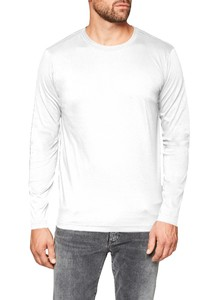 Maerz Uni Long Sleeve T-Shirt T-Shirt Pure White