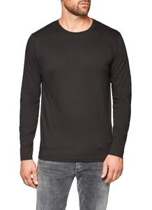 Maerz Uni Long Sleeve T-Shirt T-Shirt Zwart