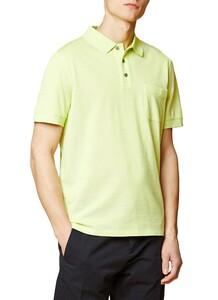 Maerz Uni Melange Polo Poloshirt Acid Green
