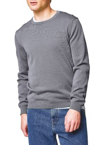 Maerz Uni Merino Superwash Pullover Mercury Grey