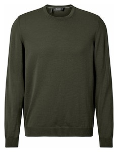 Maerz Uni Merino Superwash Pullover Olive Night