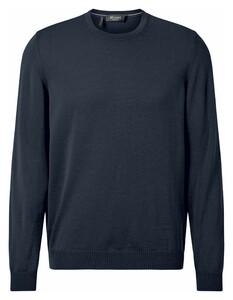 Maerz Uni Merino Superwash Pullover Vintage Blue