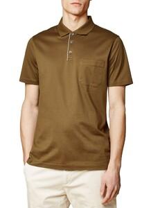 Maerz Uni Polo Short Sleeve Poloshirt Olive Paste