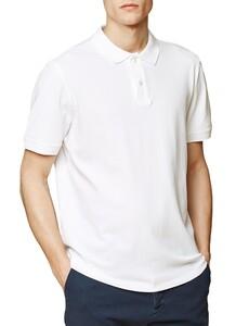 Maerz Uni Poloshirt Poloshirt Pure White