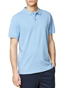 Maerz Uni Poloshirt Poloshirt Star Blue
