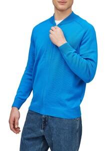 Maerz Vest Merino Vest Blue Hydrangea