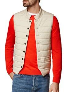 Maerz Vest Uni Button Vest Zandsteen