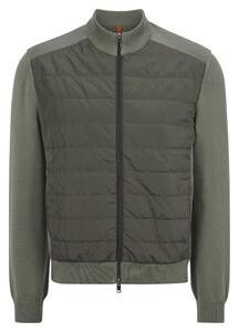 Maerz Zipper Cardigan Vest Army Olive