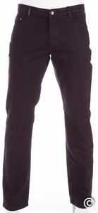 MENS Denver Permacolor 5-Pocket Jeans Zwart