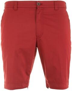 MENS Kuba Shorts Extra Thin Bermuda Donker Rood