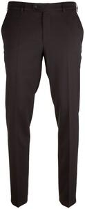 MENS Madison Dunne Wollen Pantalon Broek Zwart