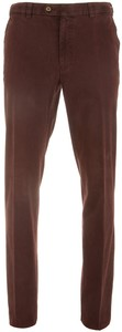 MENS Madison Flat-Front Cotton Pants Red