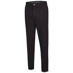 MENS Madison Modern-Fit Xtend Flat-Front Jeans Jeans Black