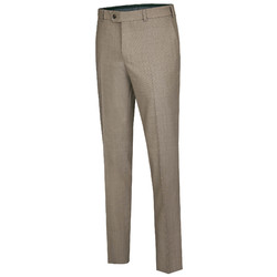 MENS Madison Thin Wool Pants Beige