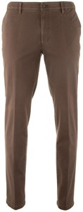 MENS Madison XTEND Flat-Front Cotton Broek Midden Bruin