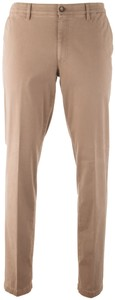MENS Madison XTEND Flat-Front Cotton Broek Zand