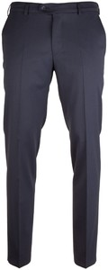 MENS Madrid Dunne Wollen Pantalon Broek Royal Blue