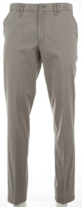 MENS Meran Contrasted Fine Structure Pants Light Brown