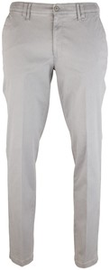 MENS Meran Contrasted Flat-Front Pants Light Grey