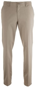 MENS Meran Contrasted Flat-Front Pants Sand