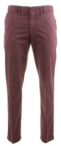 MENS Meran Diamond Print Pants Red