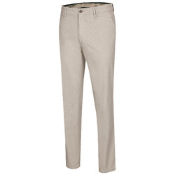 MENS Meran Fine Pattern Pants Brown