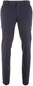 MENS Meran Velvet Cotton Broek Dark Denim Blue