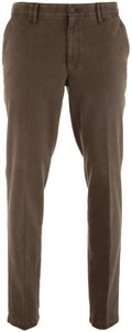 MENS Meran Velvet Cotton Pants Dark Brown Melange