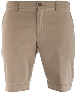 MENS Modern Fit Kuba Shorts Bermuda Dark Sand