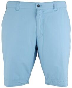 MENS Modern Fit Kuba Shorts Bermuda Licht Blauw