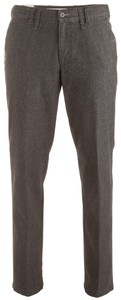 MENS Modern Style Wool-Look Meran Broek Antraciet