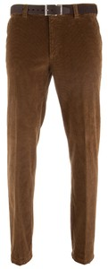 MENS Stretch Corduroy Madrid Ribbroek Donker Zand
