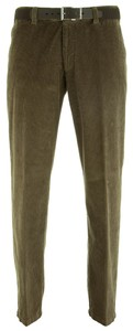 MENS Stretch Corduroy Madrid Ribbroek Khaki